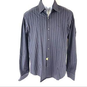 Hugo Boss Men's Blue Dress Shirt 16.5
